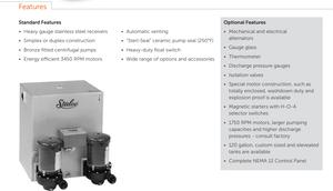 4300 condensate return pump features